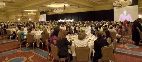 Paul Fraughton | Salt Lake Tribune The YWCA's Leader Luncheon at The Grand America Hotel in Salt Lake City.   Friday, September 21, 2012