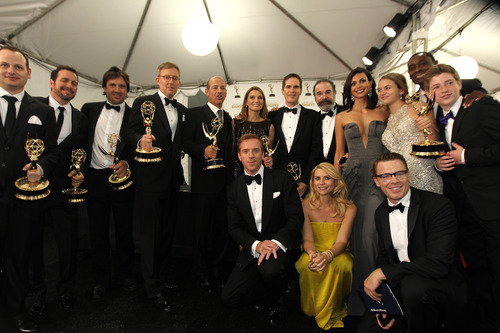 The cast of