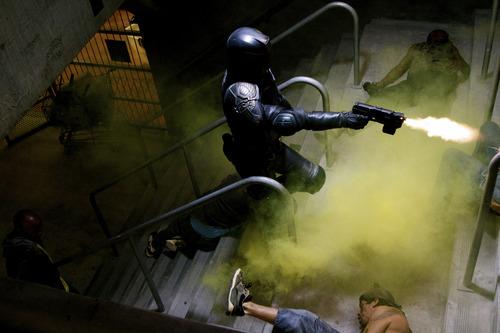 Karl Urban in a scene from