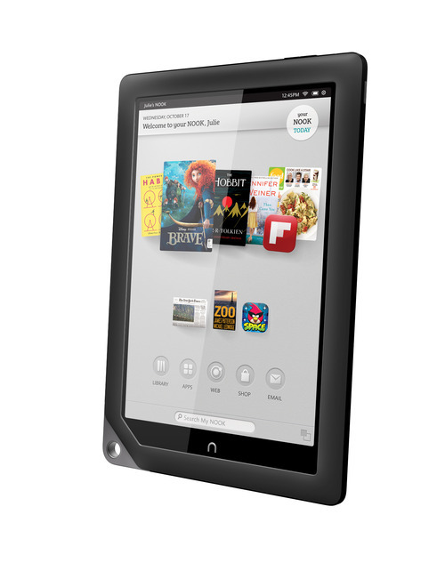 (AP Photo/Barnes & Noble) Nook HD will come in two sizes, one with a 7-inch screen measured diagonally, starting at $199, and one with a new 9-inch diagonal screen, called the Nook HD+, starting at $269.