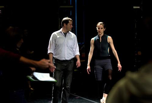 Courtesy photo Ballet West Artistic Director Adam Sklute and dancer Allison DeBona on
