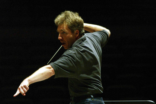 Tribune file photo  Utah Symphony music director Thierry Fischer conducted his first program of chamber music in Utah on Sunday at Libby Gardner Concert Hall.