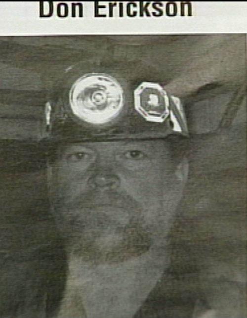 Miner Don Erickson -- Courtesy of KUTV