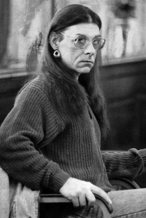 FILE - In this Jan. 15, 1993 file photo, Robert Kosilek sits in Bristol County Superior Court, in New Bedford, Mass., where Kosilek was on trial for the May 1990 murder of his wife. Kosilek was convicted in the murder, and has been living as a woman, Michelle Kosilek, and receiving hormone treatments while serving life in prison in Massachusetts. Gov. Deval Patrick's administration is appealing a federal judge's ruling that the state must pay for a sex-reassignment surgery for a transsexual prison inmate who was convicted of murdering her wife. (AP Photo/Lisa Bul, File)