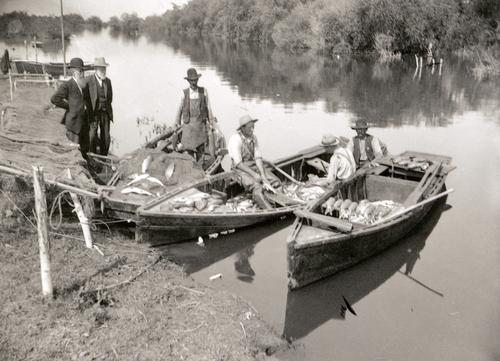 Fishing on Utah Lake. Courtesy of Utah Historical Society