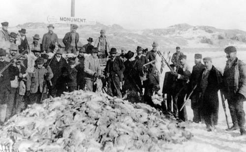 Rabbit hunters. Courtesy of Utah Historical Society