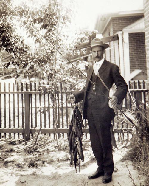 Fisherman in 1907. Courtesy of Utah Historical Society