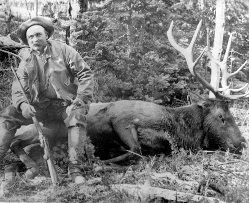 Elk hunter. Courtesy of Utah Historical Society