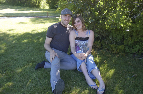 Zak Cabell and Alida