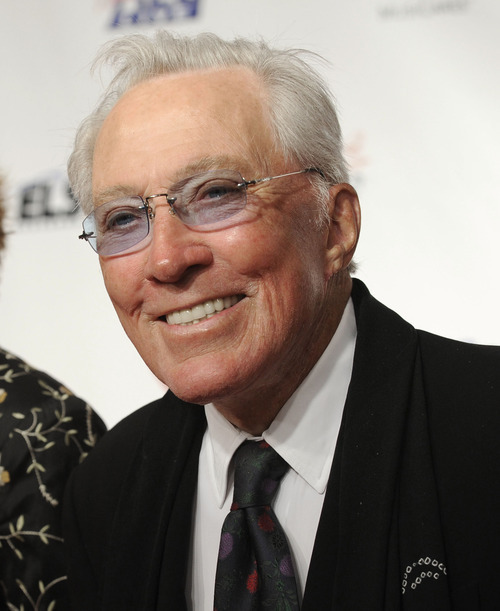 FILE - This Feb. 6, 2009 file photo shows Andy Williams arriving at the MusiCares Person of the Year tribute in Los Angeles. Williams, who had a string of gold albums and hosted several variety shows and specials such as,