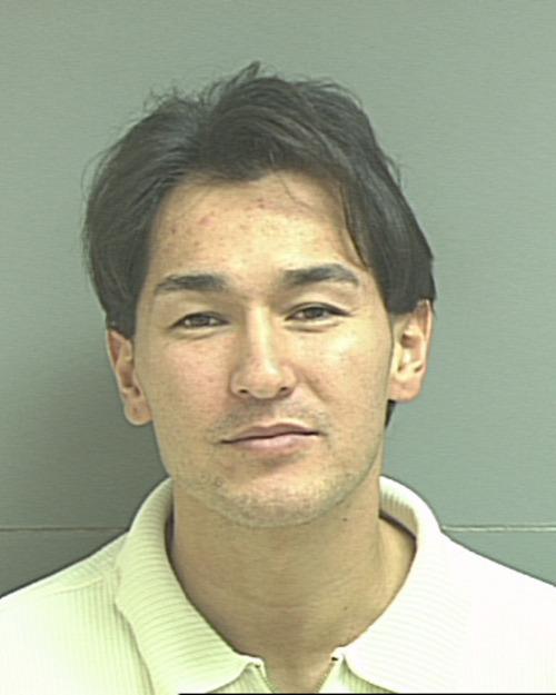 Anthony Mayhew, 2002. Courtesy Salt Lake County Jail