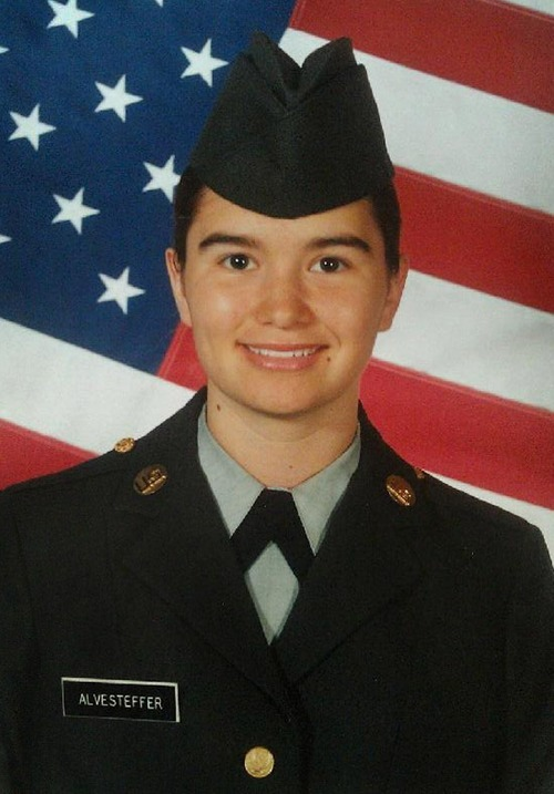 COURTESY OF KELLY SMITH Kelly Smith, was a 19-year-old soldier from Green River, Wyo., when she was raped by a 55-year old non-commissioned officer in 2003 at Fort Lewis, Washington. Smith is still trying to get access to the criminal investigation records surrounding the rape. Smith's attacker was never prosecuted by the Army.
