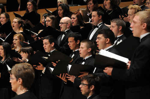 Courtesy University of Utah School of Music The University of Utah Chamber Choir and A Cappella Choir will present a concert titled