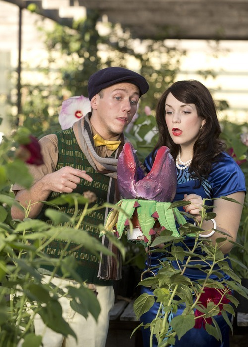 A.J. Nielsen is Seymour and Emily Maria Bennett is Audrey in