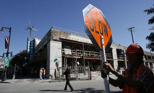 Francisco Kjolseth     The Salt Lake Tribune The old Granite Furniture building on the corner of McClleland Street (1040 East) and 2100 South in Sugar House begins its transformation. The American Planning Association announced Wednesday that the Fairmont-Sugar House area is among the