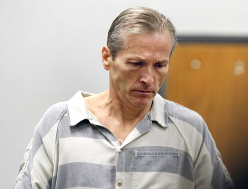 Al Hartmann  |  The Salt Lake Tribune Martin MacNeill,  a doctor accused of murdering his wife appears in Judge Sam Mcvey's Fourth District Court in Provo on Oct. 3 for the first day of preliminary hearings.