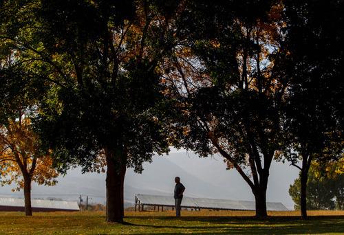 Trent Nelson  |  The Salt Lake Tribune Retiring LDS Church historian Marlin Jensen on Wednesday, Oct.3, 2012, at his home in Huntsville.