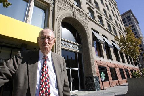 Paul Fraughton   The Salt Lake Tribune Robert E. Crandall is the current owner of the Crandall Building in downtown Salt Lake City.  Thursday, October 4, 2012