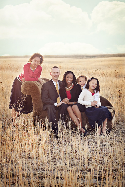 Jason and Mia Love with their children. Courtesy: Love family