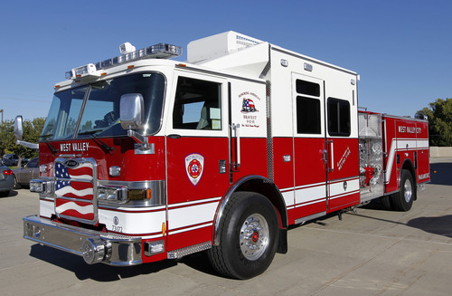 New fire truck equipped for all emergencies the salt for Department of motor vehicles in mobile alabama