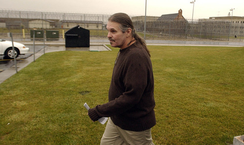 Francisco Kjolseth  |  Tribune file photo Bruce Dallas Goodman served 19 years for a murder he would be found 'facutally innocent' of in 2004. He's been in and out of jail in recent years, arrested on parole violations for using, selling, burglarizing, carrying a loaded weapon and panhandling.