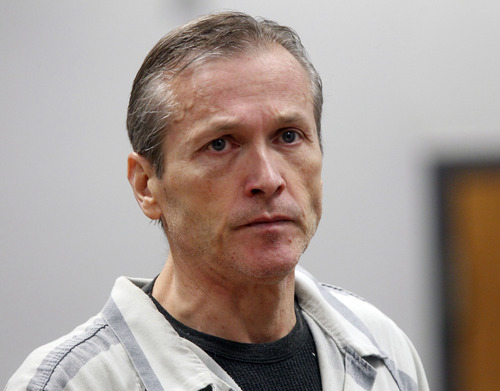 Al Hartmann  |  The Salt Lake Tribune Martin MacNeill,  a doctor accused of murdering his wife appears in Judge Sam McVey's Fourth District Court in Provo Wednesday October 10 for his preliminary hearing.