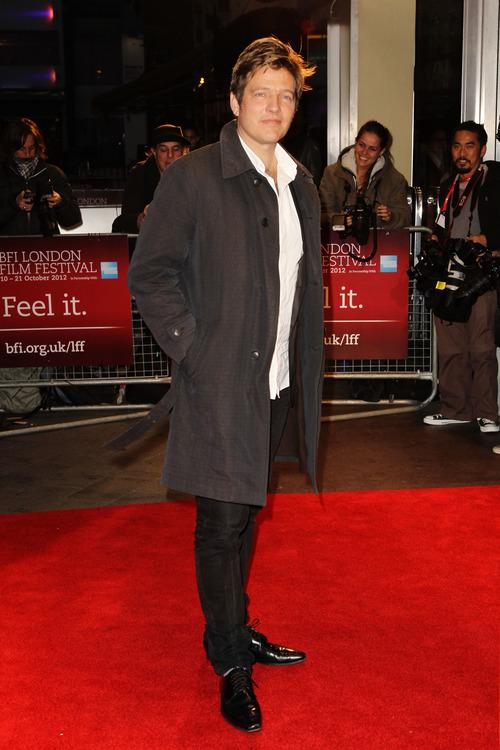 Thomas Vinterberg arrives at screening for