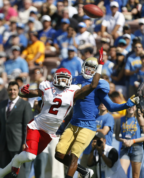 Ucla Scott: Utah Football: Utes Fall To Bruins 21-14 In Wilson's