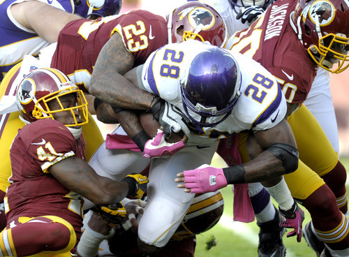 Redskins vs. Adrian Peterson