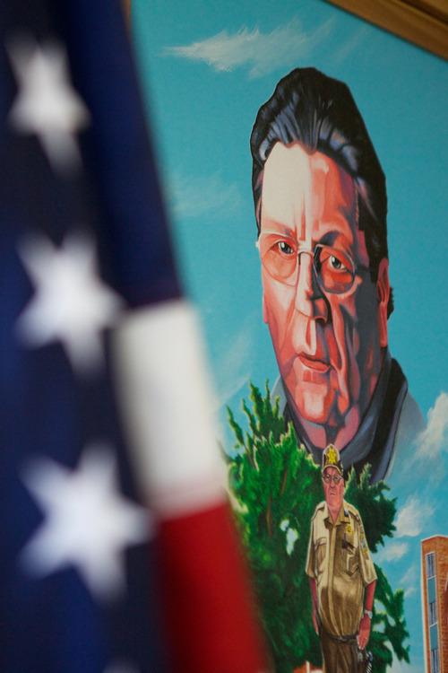 A portrait commemorating Ronald