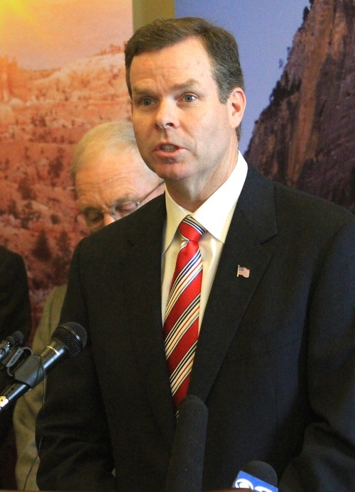 Rick Egan  |  Tribune file photo Deputy Attorney General John Swallow is running for the Office's top job. Three-term Attorney General Mark Shurtleff is stepping down in January.