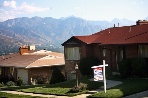 Kim Raff | The Salt Lake Tribune Home prices in the Salt Lake City area continued to show gains in August.