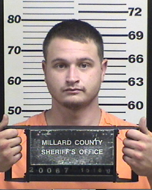 Dana Harnes. (Millard County Jail photo)