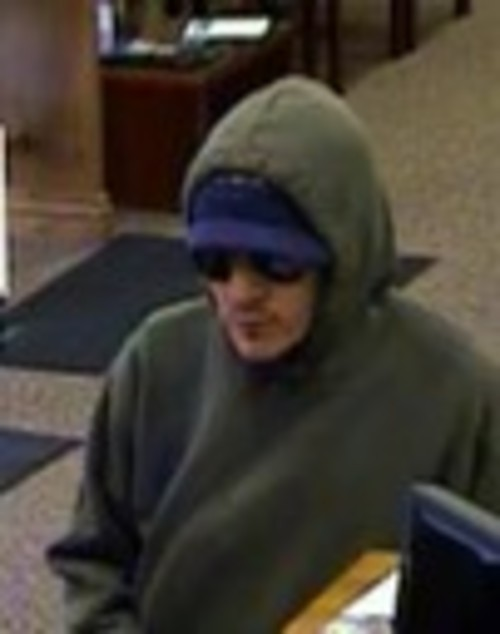 Courtesy of FBI   The bank robbery suspect known as the