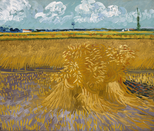 This photo provided by the Denver Art Museum shows Vincent van Gogh's