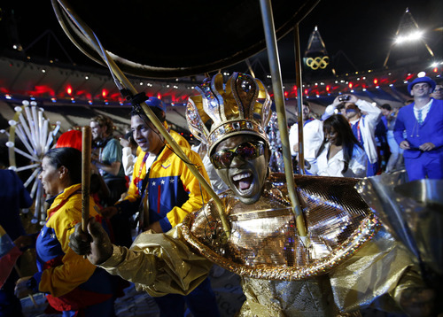 (AP Photo/Jae C. Hong) The Closing Ceremony for the 2012 Summer Olympics was held on August but the games continued to provide a boost for Britain's economy and helped during the third quarter to pull it out of its recession.