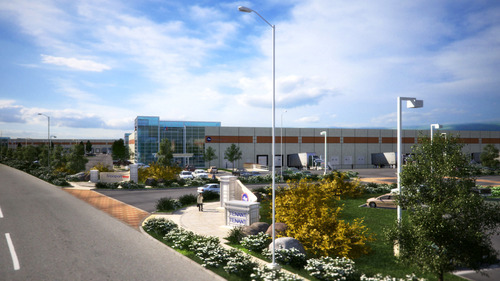 Freeport West plans to build an industrial park in West Valley City with 2.3 million square feet of space, which will include a mammoth 633,000-square-foot building. Forrar Williams Architects in Sacramento, Calif., is the architect for the project. Courtesy image