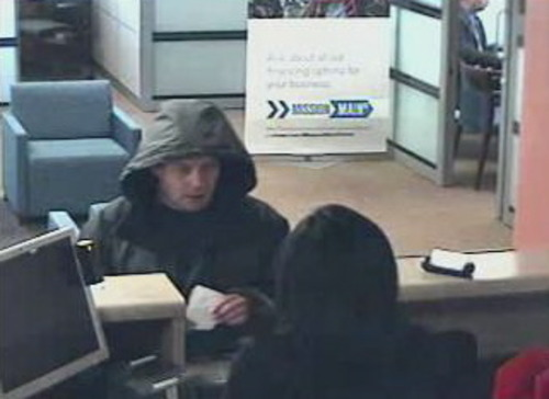 Orem police are seeking this man in a Friday bank robbery. (Orem police photo)