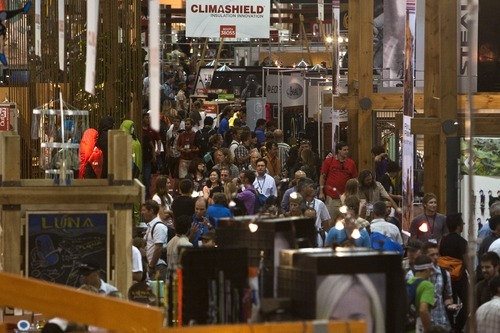 Tribune file photo An Outdoor Retailer survey shows that while members like coming to Utah for the shows, there is plenty of sentiment that what's offered here is too little for the shows' ever-growing needs.