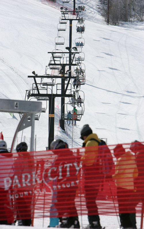 Steve Griffin  |  Tribune file photo Park City Mountain Resort and its predecessor, Park City Ski Area, have leased terrain from United Park City Mines for four decades. Talisker Corp. acquired United Park City Mines in 2004.