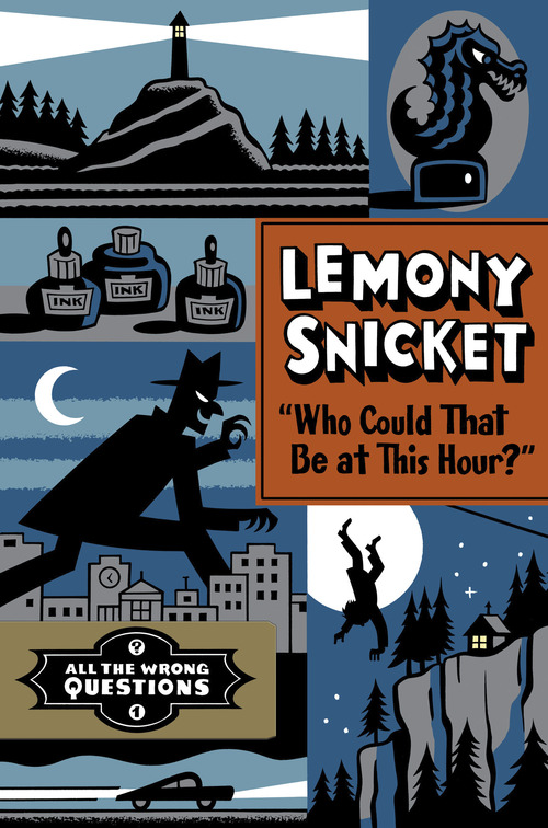 "Author Lemony Snicket will be at Rowland Hall's upper school campus in Salt Lake City, Nov. 7 to present his new book ""All the Wrong Questions: Who Could That Be at This Hour?"" Credit: Courtesy Little, Brown and Company"