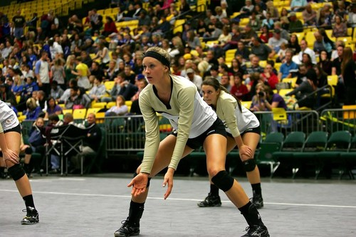 Kizzy Willey of Lone Peak High School at state competitions in the 2011-2012 season. Courtesy photo