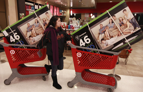 (AP Photo/Jeff Chiu) A few years ago, layaway was effectively gone, replaced by credit cards as an effective way for people to purchase on credit. But with the recession and the credit crunch, layaway has made a comeback, with big-box retailers bringing it back.