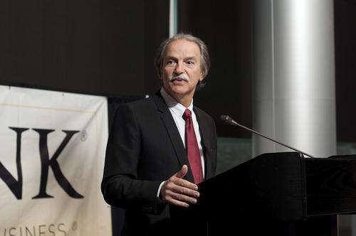 Toronto gold mining executive and U. benefactor Pierre Lassonde. Photo courtesy of the University of Utah.