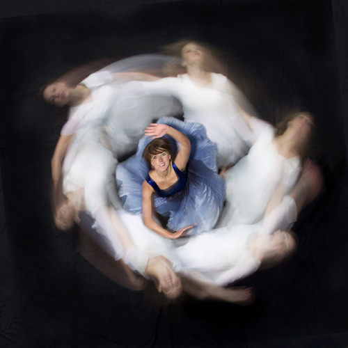 Dancers with BYU DancEnsemble sought inspiration from the art work of Heloise Crista for their fall concert. (Courtesy Mark a. Philbrick | BYU)