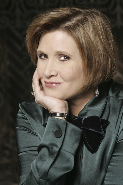 Courtesy photo Carrie Fisher -- actress, author and mental-health advocate -- will be the featured guest at a gala for the Utah Film Center on Nov. 9.