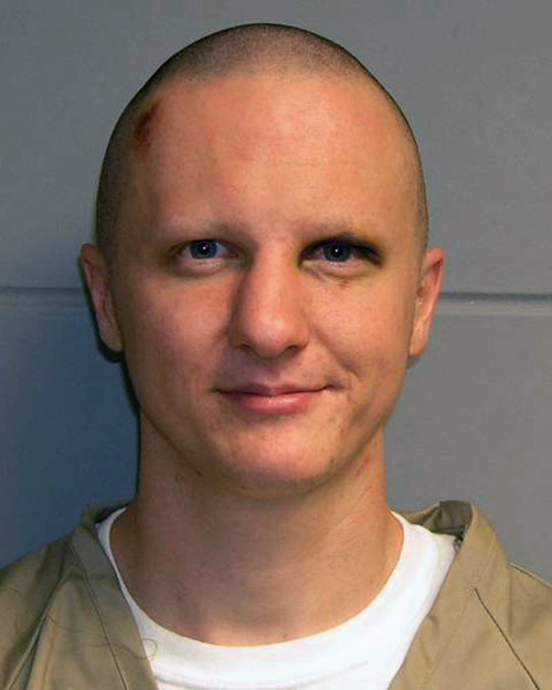 FILE - This photo provided on Feb. 22, 2011, by the U.S. Marshal's Service shows Jared Lee Loughner. Loughner, who pleaded guilty in the Arizona shooting rampage, will be sentenced Thursday, Nov. 8, 2012, for the attack that left six people dead and wounded former U.S. Rep. Gabrielle Giffords as well as 12 others. (AP Photo/U.S. Marshal's Office, File)
