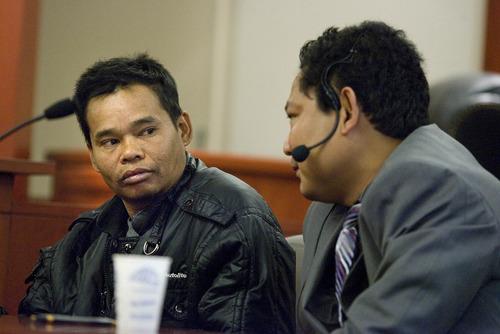 Paul Fraughton  |  The Salt Lake Tribune Mar Mae Rar Phi testifies during the preliminary hearing of Esar Met on Friday. Met is accused of killing 7-year-old Hser Ner Moo in 2008.