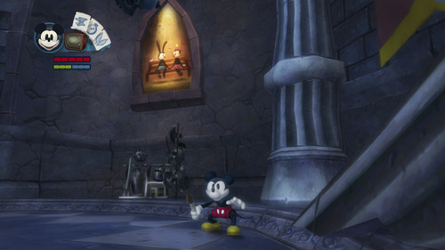 "Screenshot from the Nintendo Wii U game, ""Epic Mickey 2."" Courtesy image"