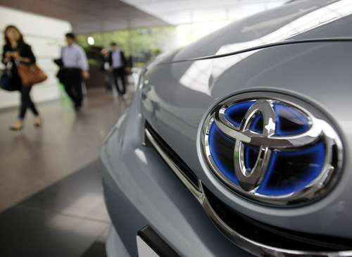 Koji Sasahara | The Associated Press Affected Toyota models include the Prius hybrid, Corolla, Wish and other models produced from 2000 to 2011 in Japan, and from 2000 to 2009 overseas.